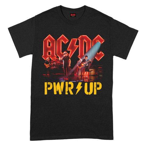 AC/DC PWRUP Stage Lights Power Up Official T-Shirt
