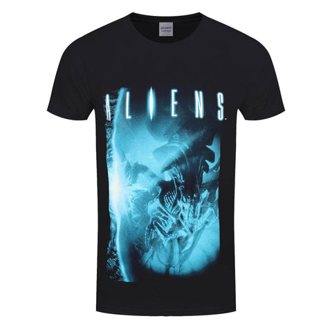 Aliens Title Poster Official T-Shirt