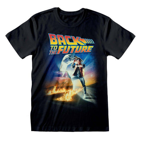 Back To The Future Poster Official T-Shirt