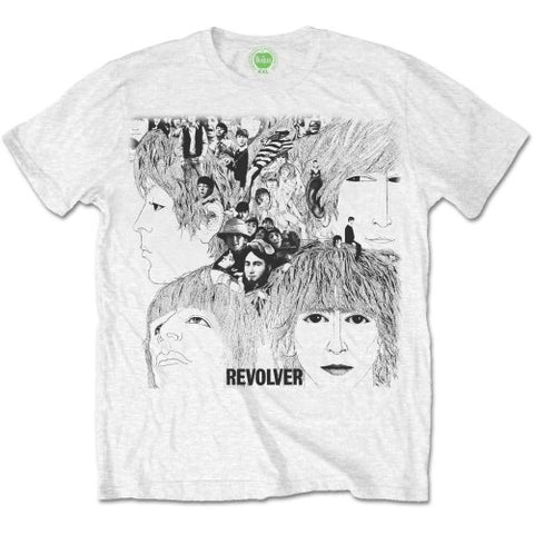 The Beatles Revolver Album Cover Official T-Shirt