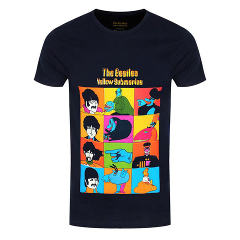 The Beatles Yellow Submarine Characters Official T-Shirt