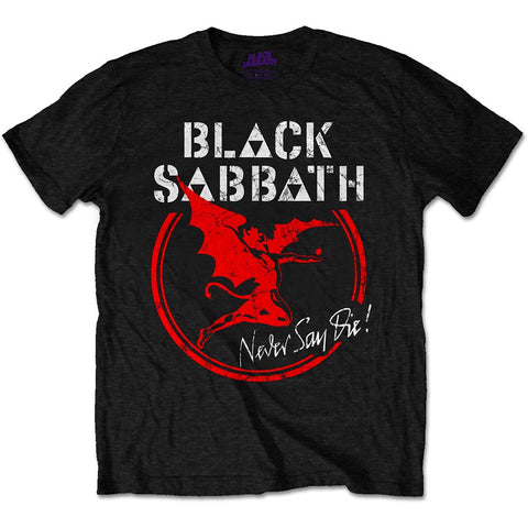 Black Sabbath Never Say Die Official T-Shirt