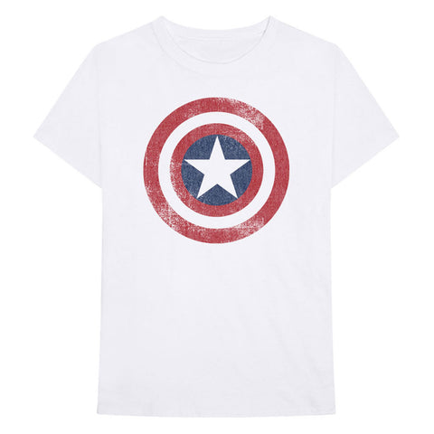 Captain America Official White T-Shirt