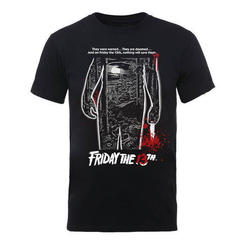 Friday The 13th Bloody Poster Official T-Shirt