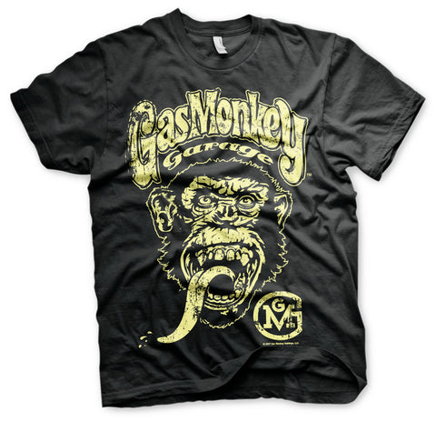 Gas Monkey Garage Big Brand Logo Official T-Shirt