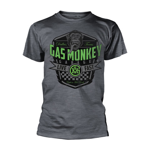 Gas Monkey Garage Live Fast Official T-Shirt