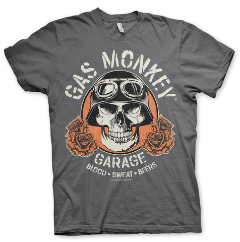 Gas Monkey Garage Skull Official T-Shirt