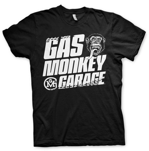 Gas Monkey Garage Tyre Tracks Official T-Shirt