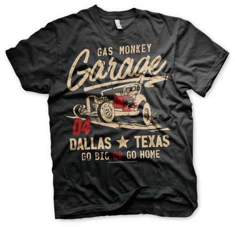 Gas Monkey Garage Go Big or Go Home Official T-Shirt