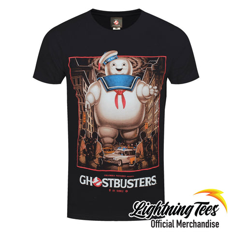 Ghostbusters Stay Puft Square Official T-Shirt