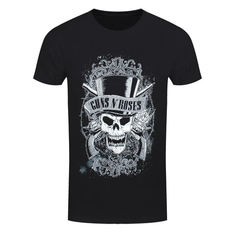Guns N Roses Faded Skull Official T-Shirt