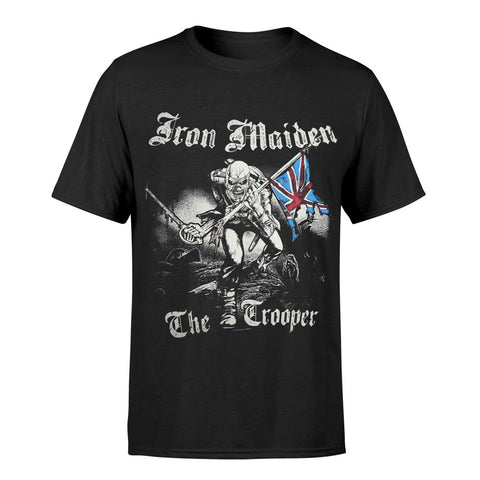 Iron Maiden Sketched Trooper Official T-Shirt