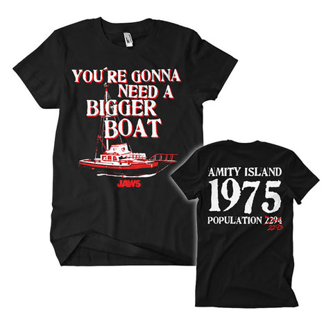 Jaws Bigger Boat Official T-Shirt