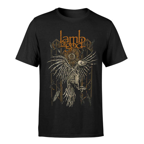 Lamb Of God Crow Official T-Shirt