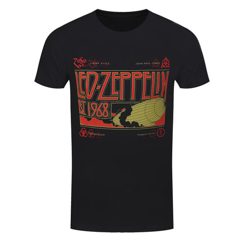 Led Zeppelin & Smoke Official T-Shirt