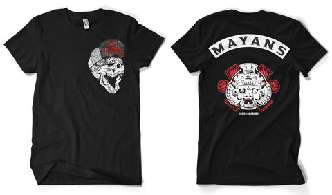 Los Mayans Back Patch Official T-Shirt