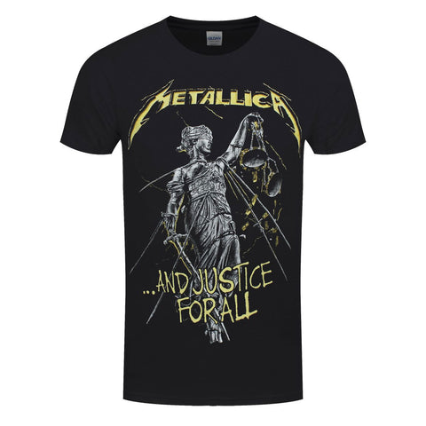 Metallica Justice For All Tracks Official T-Shirt