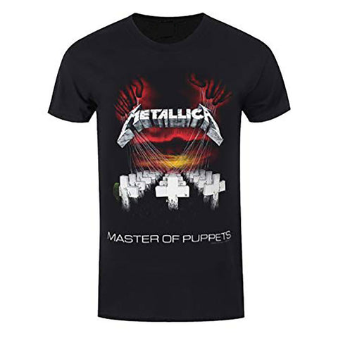 Metallica Master Of Puppets Euro Tour 86 Official T-Shirt
