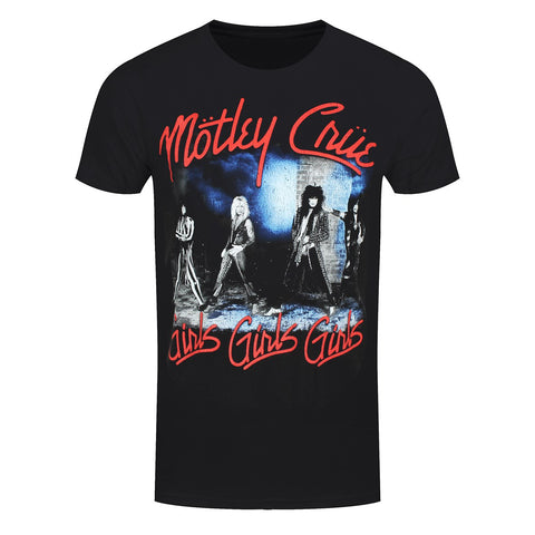 Motley Crue Smokey Street Official T-Shirt