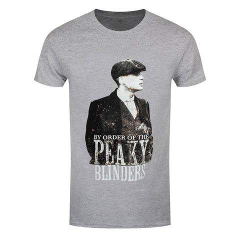 Peaky Blinders Character Official Grey T-Shirt