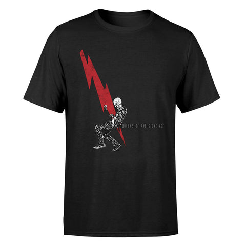 Queens Of The Stone Age Lightning Official T-Shirt