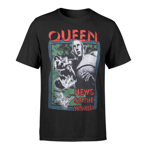 Queen News Of The World Official T-Shirt