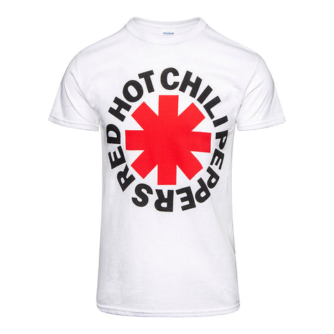 Red Hot Chili Peppers Official White T-Shirt