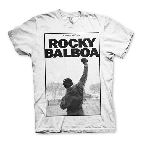 Rocky Balboa It Aint Over Poster Official T-Shirt