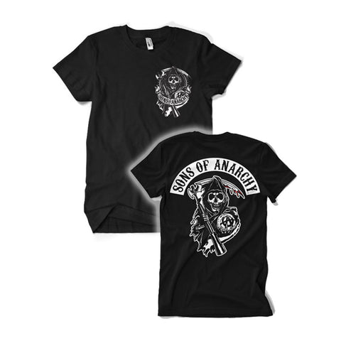 Sons of Anarchy Back Patch Official T-Shirt