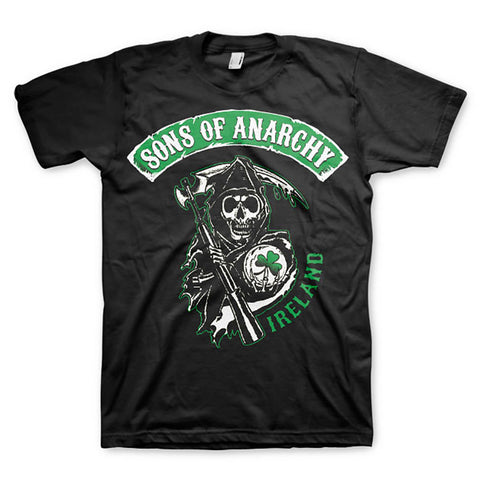 Sons of Anarchy Irish Patch Official T-Shirt