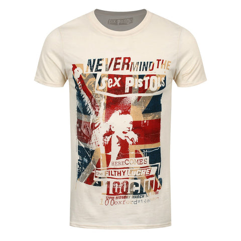 Sex Pistols 100 Club Official T-Shirt