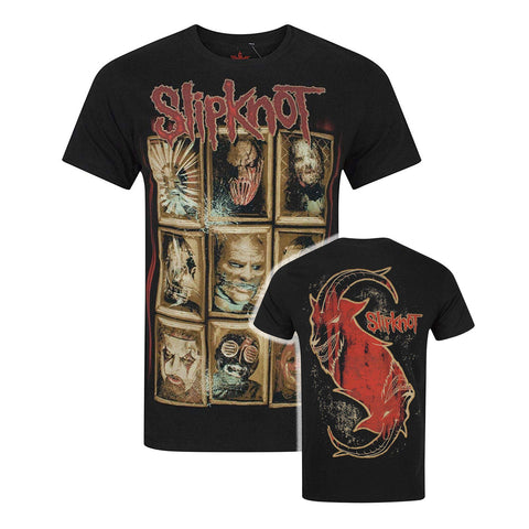 Slipknot New Masks Band Official T-Shirt