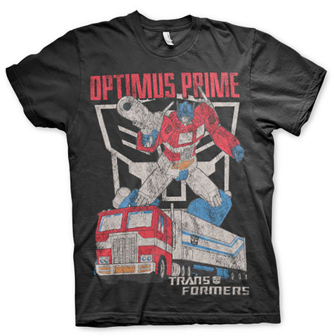 Transformers Optimus Prime Official T-Shirt