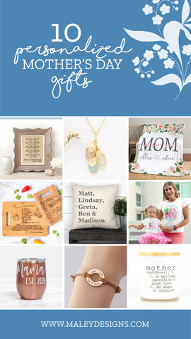 10 Personalized Mother's Day Gift Ideas