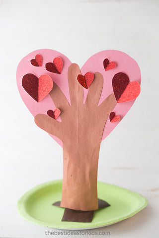 Valentine's Day Craft Ideas For Kids Heart Tree