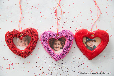 Valentines Day Craft Ideas For Kids Salt Dough Hearts