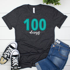 100 Days Tshirt HUN-044