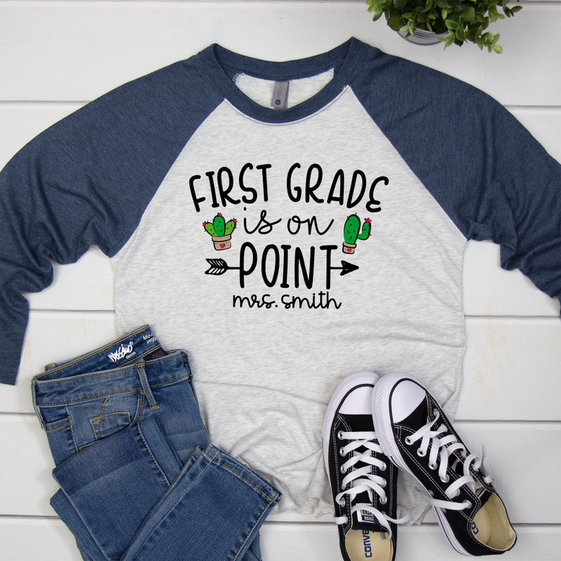 First Grade On Point Personalized BA-108