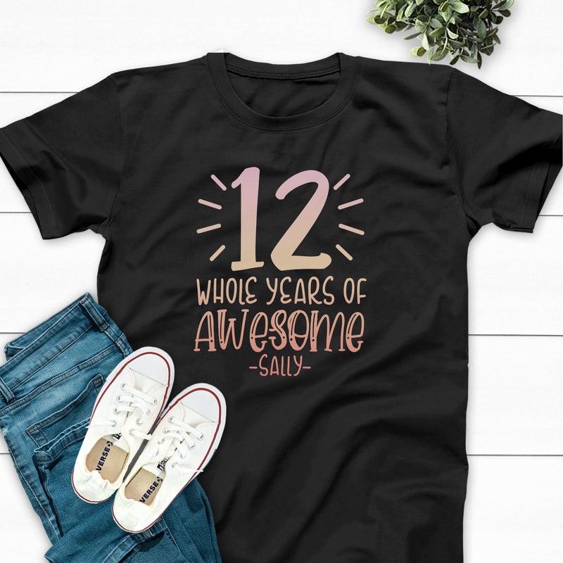 Numeral Accents Whole Years Of Awesome #12 BIR-093