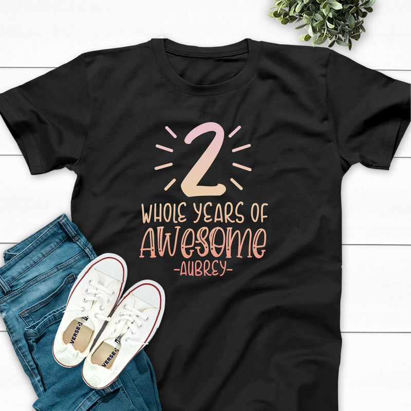 Numeral Accents Whole Years Of Awesome #2 BIR-093