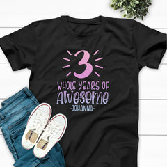 Numeral Accents Whole Years Of Awesome #3 BIR-093