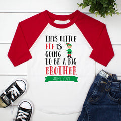 This Little Elf Is Going To Be A Big Brother CHR-039