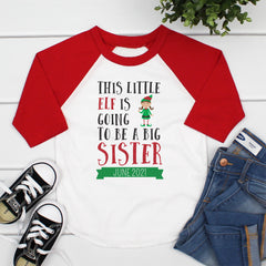 This Little Elf Is Going To Be A Big Sister CHR-040