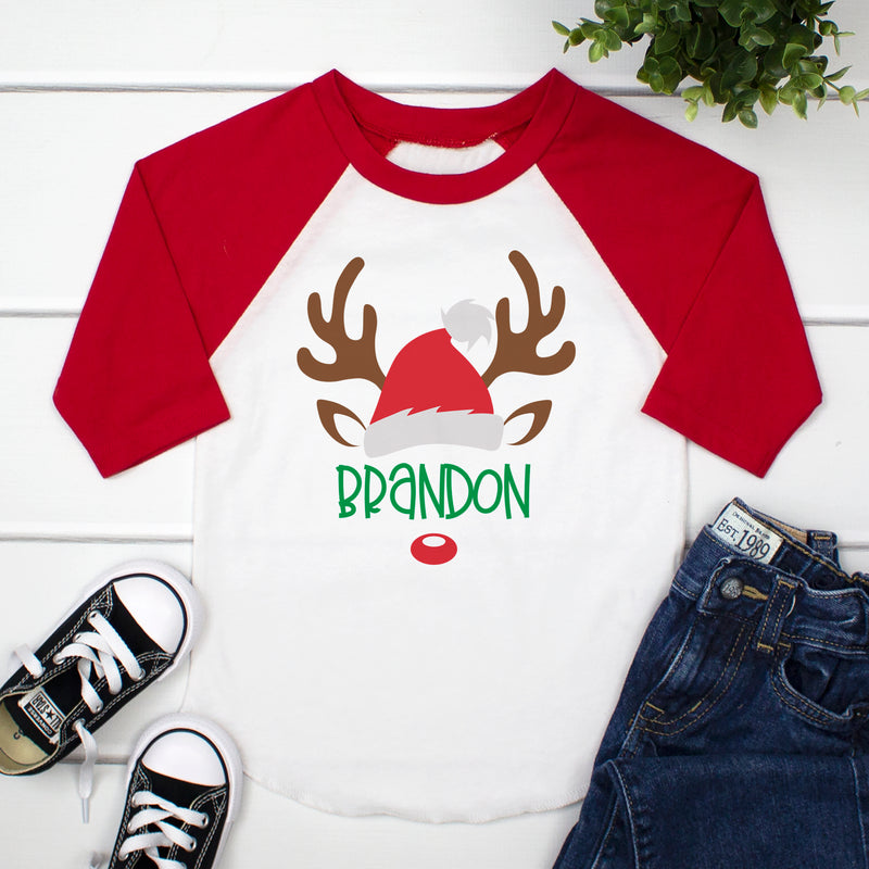 Boy Reindeer Face CHR-060