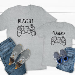 Player 1 and Player 2 DAD-003/004