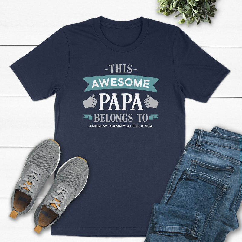 This Awesome Papa Belongs To DAD-046
