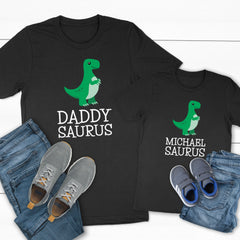 Daddy-Saurus and Kids-Name-Saurus DAD-050/051