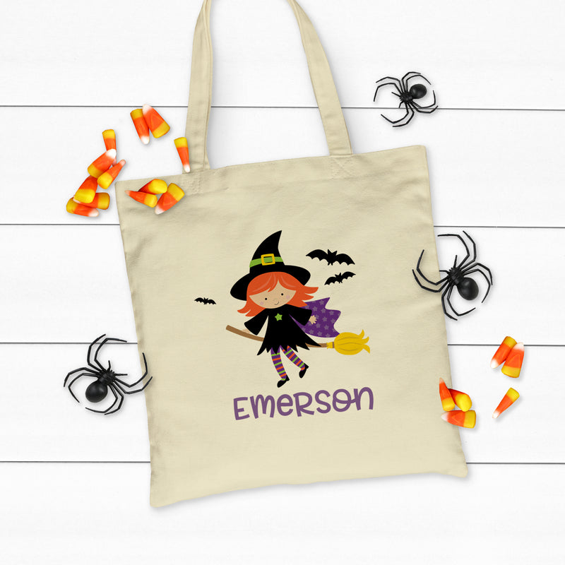 Witch Tote Bag HAL-016