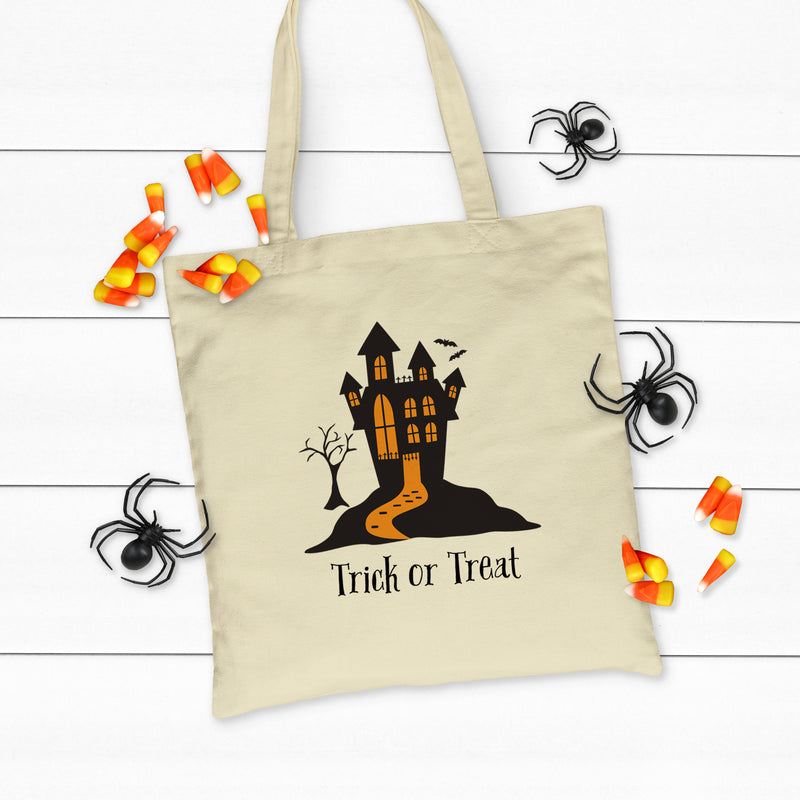 Haunted House Tote Bag HAL-049