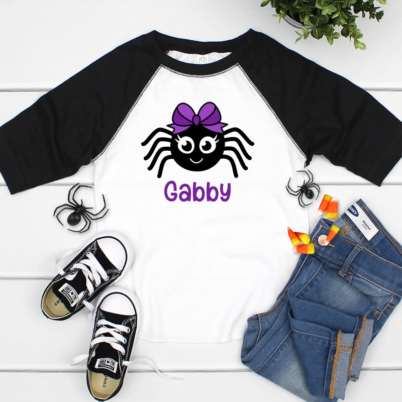 Cute Spider With Name HAL-054
